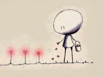 Herzblumen